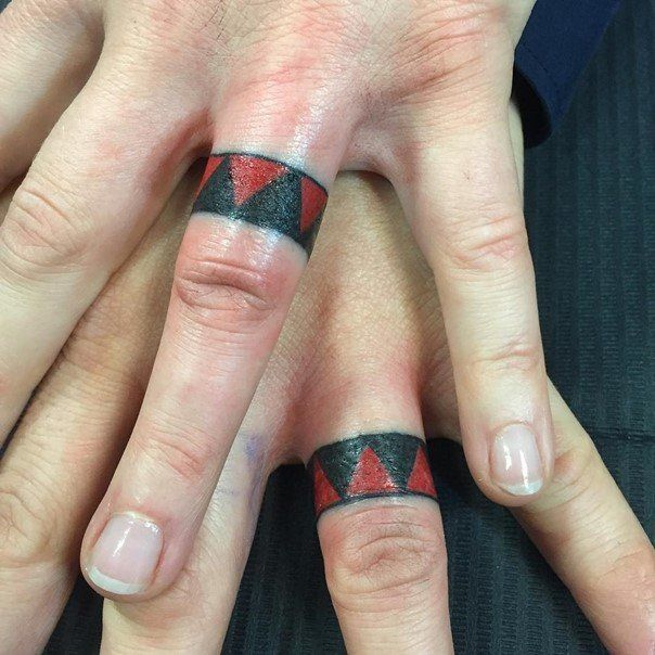 25+ Best Ideas About Wedding Band Tattoo On Pinterest