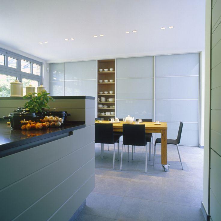 Maatkast in keuken