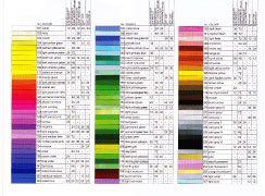Art GRIP Aquarelles (60 Color), by Faber-Castell #color #chart #aquarelle #watercolor #pencils