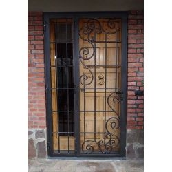 Wrought Iron Gate Door. Customize Realizations. 557