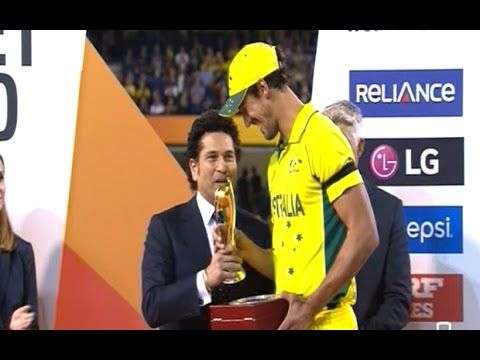 Sachin Tendulkar gets loudest cheer at MCG : WC 2015 AUS vs NZ