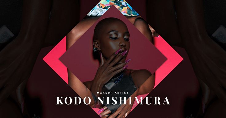 Portfolio website of Kodo Nishimura the Japanese Makeup Artist. lives and working in New York City.