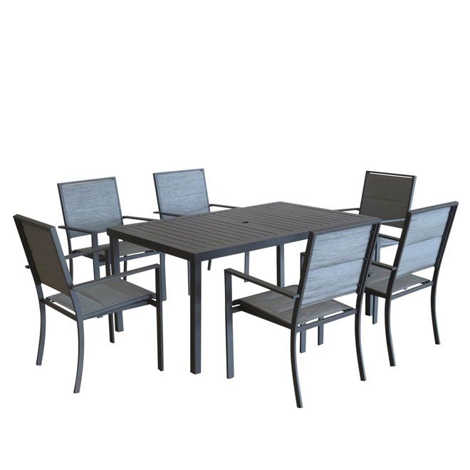 1000 id es sur le th me ensemble de meubles pour patio sur for Table exterieur rona