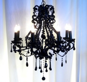 love this chandelier, need a different color though