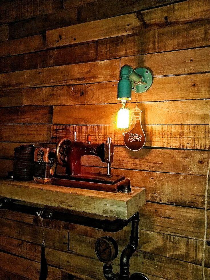 ¡Mirá nuestro nuevo producto LAMPARA PARED RETRO VINTAGE! Si te gusta podés ayudarnos pinéandolo en alguno de tus tableros :)