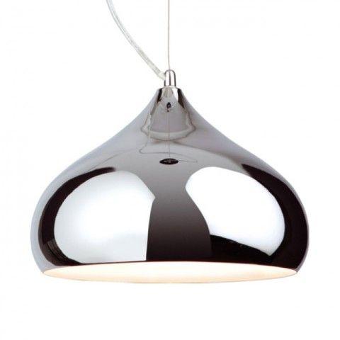 Firslight Huge Carla Chrome Light Pendant Ceiling Fitting Www Purelecelectricalsupplies Light Fittingscontemporaryco Ukdecorative