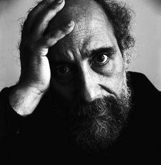 Luis Poirot (Chilean, 1940), Portrait of the poet Raúl Zurita.