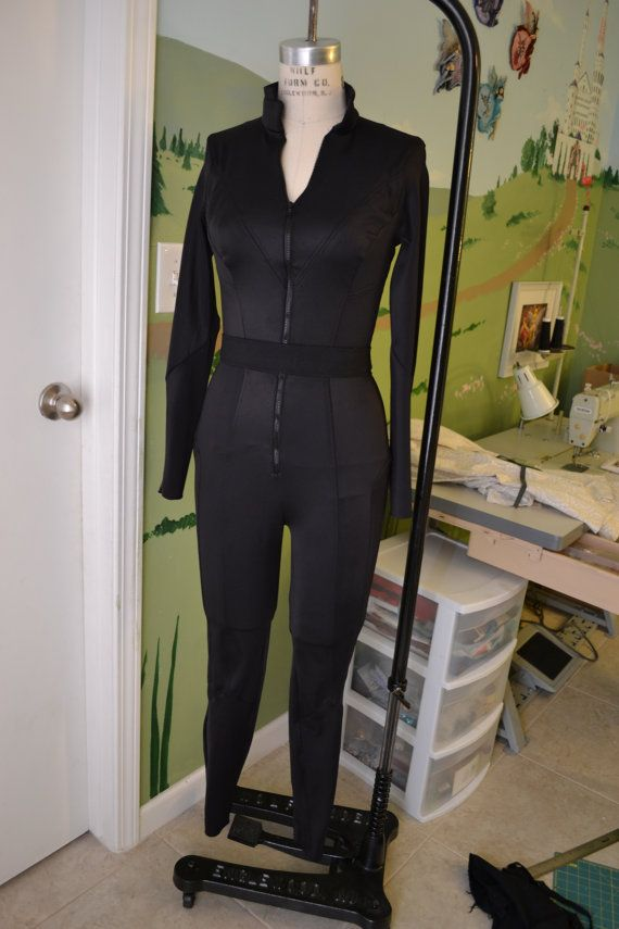Black Widow Avengers Cosplay Sewing Pattern by ClutzysCloset