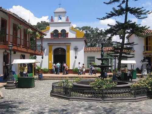 Pueblito Viejo medellin colombia.  Crazy beautiful!