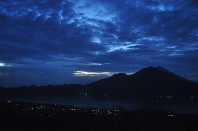 Night hike at Mount Batur, Bali