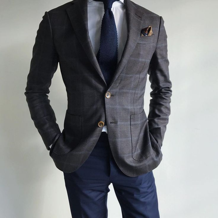 Patch pockets are a more casual style option for a suit or sports jacket.