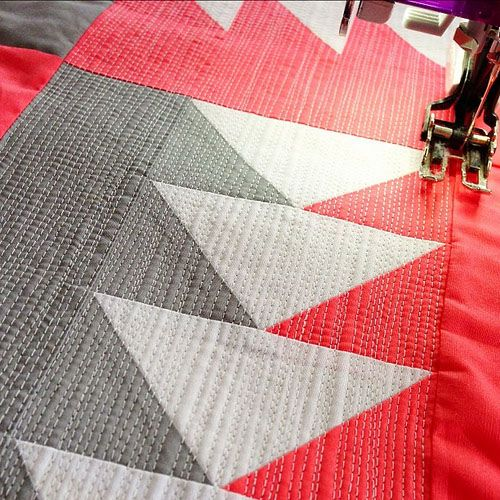 95 best WALKING FOOT QUILTING images on Pinterest | Sewing tips ... : quilting with a walking foot - Adamdwight.com