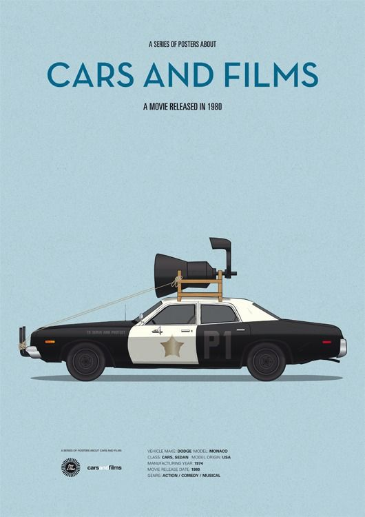 The Blues Brothers (Bluesmobile) - 1974 Dodge Monaco