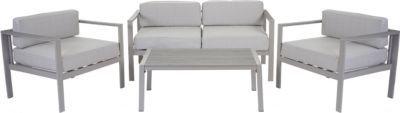 heute-wohnen 2-1-1 Alu-Garten-Garnitur Krupa, Sitzgruppe Lounge-Set, Holz-Optik Polywood Jetzt bestellen unter: https://moebel.ladendirekt.de/garten/gartenmoebel/gartenmoebel-set/?uid=280d8cee-073a-5c67-9744-140bf41d02c4&utm_source=pinterest&utm_medium=pin&utm_campaign=boards #garten #gartenmoebel #gartenmoebelset