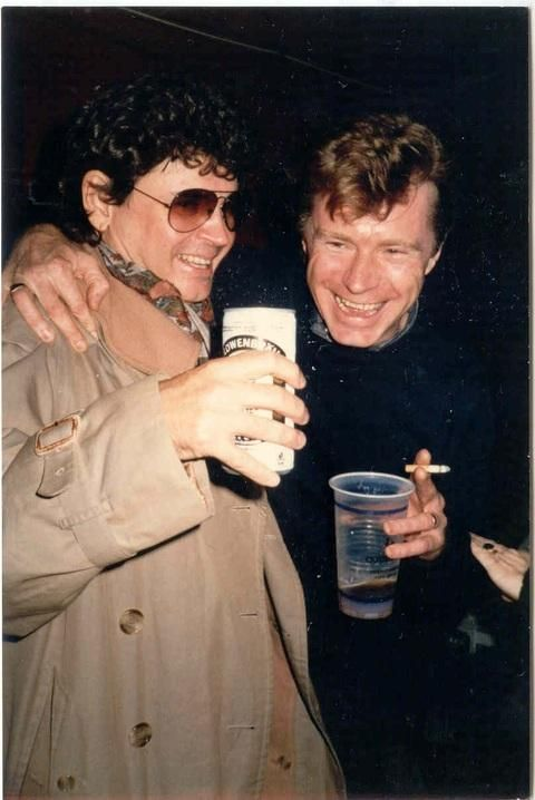 Don with Dave Edmunds