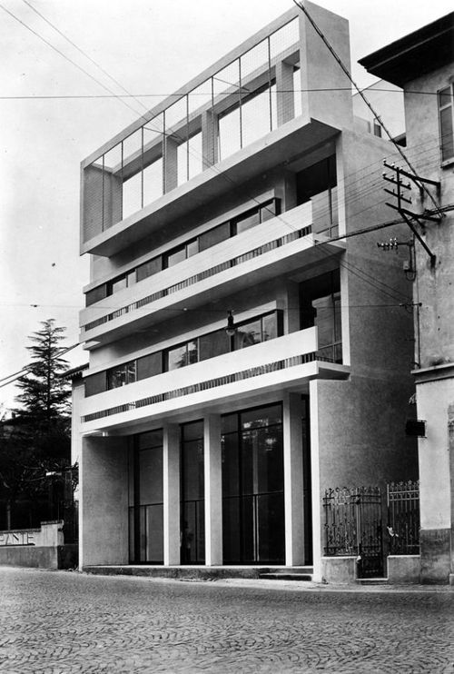 Cesare Cattaneo . casa d'affitto, Cernobbio, 1938-9