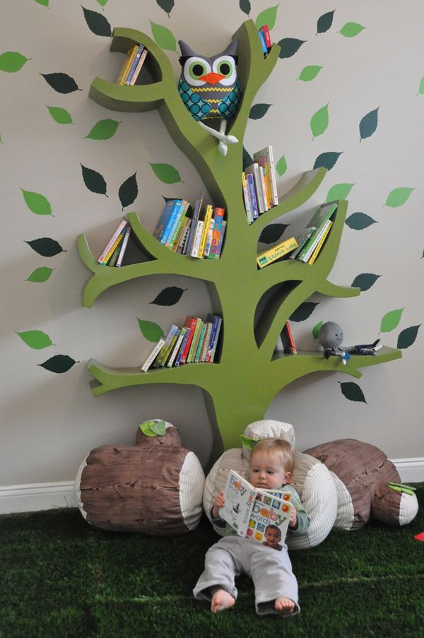 "So adorable. The featured book should be ""The Giving Tree"":)"