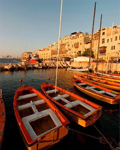 Old Jaffa Port - Tel Aviv Travel Guide - ELLE DECOR. Own a Piece of History at the W Tel Aviv Residences www.wtelavivresidences.com