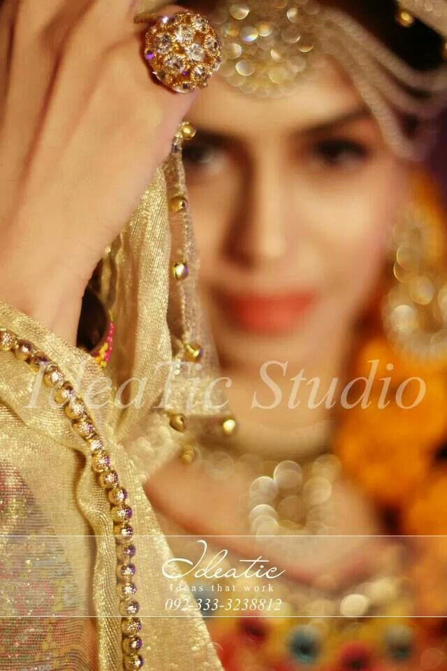 Pakistani bride clicked