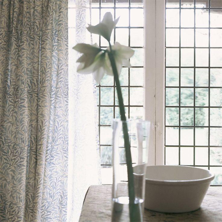 The Original Morris & Co - Arts and crafts, fabrics and wallpaper designs by William Morris & Company | Products | British/UK Fabrics and Wallpapers | Willow Bough Minor (DMC1W2203) | Morris Compendium