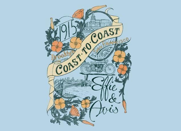 """Coast to Coast"" - Threadless.com - Best t-shirts in the world"