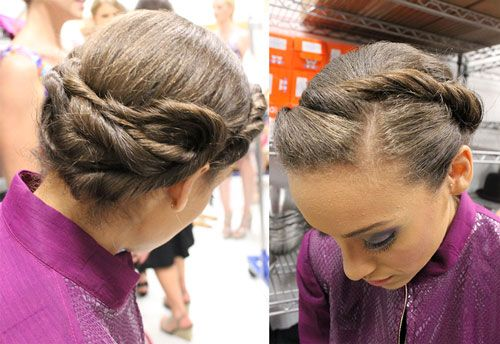 modified milkmaid braid