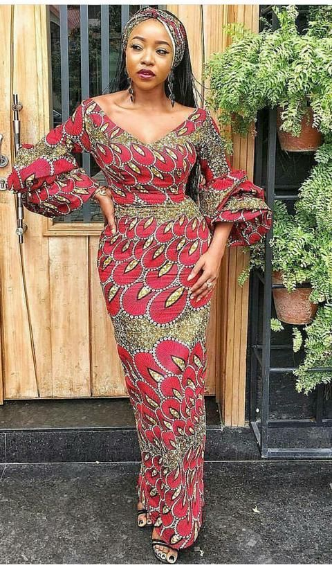 ankara long dress  african fashion dresses african