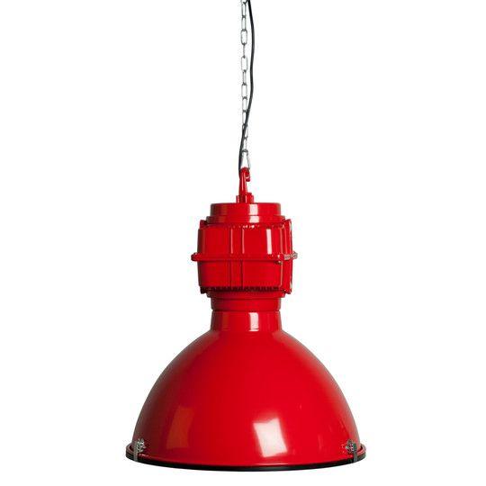 Lampa wisząca VIC INDUSTRY czerwona