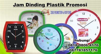 Zeropromosi 081808064176 – Kami produsen jam dinding promosi dan souvenir memproduksi Jam Dinding Plastik , Bingkai Jam Dinding Dari Plastik. produksi jam dinding untuk promosi, yang bisa dicetak gambar / logo.  Bisa anda gunakan sebagai souvenir/merchandise untuk client atau kerabat anda.