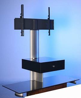 """Ultimate HDC 1150B/B silver alu  — 65520 руб. —  Подставка под AV компоненты Ultimate HDC 1150B/W черное стекло/серебристый алюминий. Стойка под плазменный, ЭЛТ и ЖК телевизор с диагональю до 50"""". Стойка для LCD телевизора/панели Ultimate HDC 1150B/B silver alu, которой характерен современный дизайн и надежные высокопрочные материалы - закаленное стекло и анодированный алюминий. Тумба будет удобной для установки телевизора с диагональю 50"""". Средняя и нижняя полки позволят Вам разместить…"""
