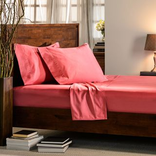 Another favorite of The Sweet Home: these 400 thread count sateen cotton sheets. #bestseller