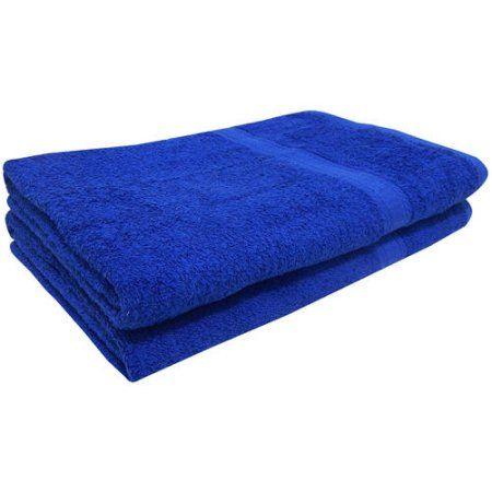 Mainstays Basic 2-Piece Bath Sheet Set
