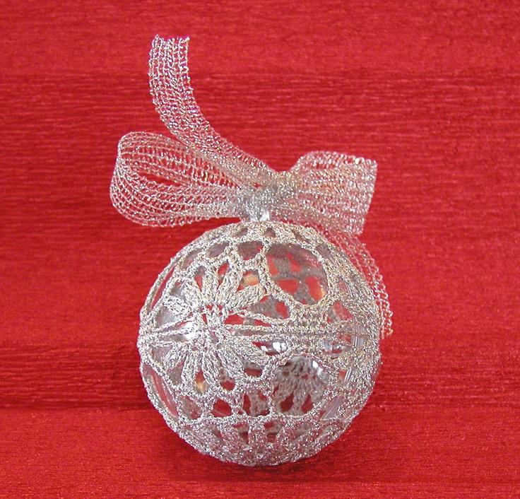 Xmas Ball 1 [ handmade crochet ]