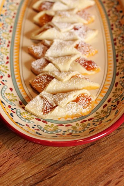 Kolacky is a Polish cookie filled with any type of jam you want, or even a nut filling.