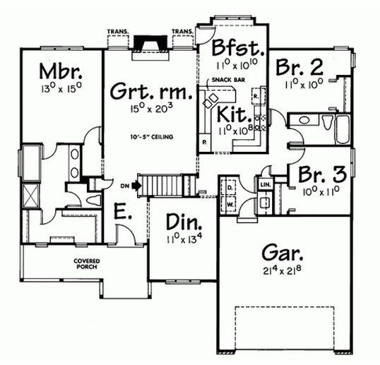 Best 25+ Narrow Lot House Plans Ideas On Pinterest