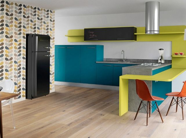 17 meilleures id es propos de murs de la cuisine jaune sur pinterest cuisines jaunes. Black Bedroom Furniture Sets. Home Design Ideas