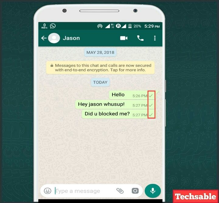 How to Know if Someone Has Blocked You on WhatsApp | Android