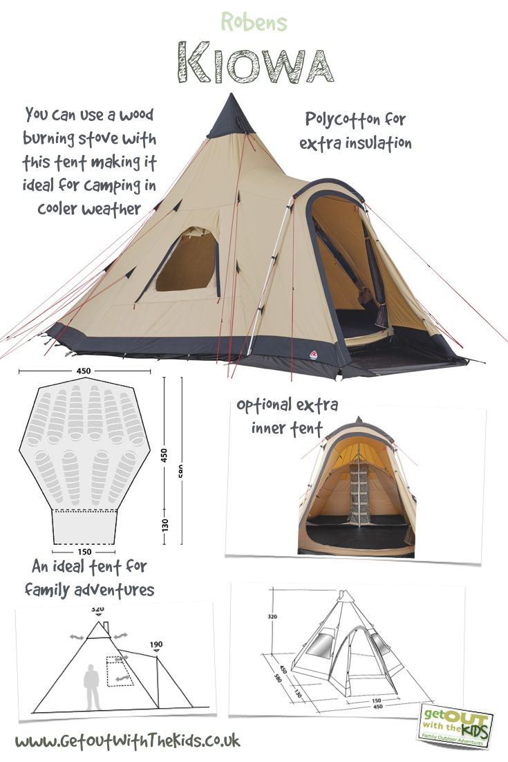 We've been using the Robens Kiowa tent for a few months now. Read our review and watch the video tour of this excellent family tipi-style of tent.