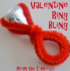 What a cute and easy valentine for kids to make!