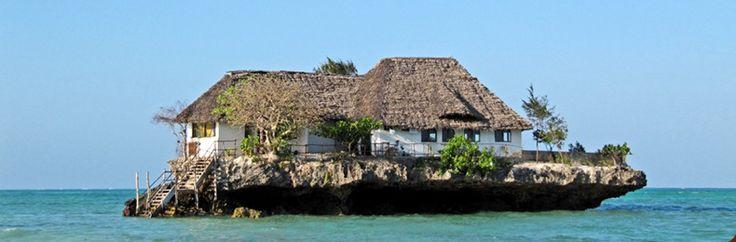 Rock Restaurant of Zanzibar: Indian Ocean, Dreams Houses, Buckets Lists, Favorite Places, The Rocks, The Ocean, Rocks Restaurant, Boats, Amazing Places