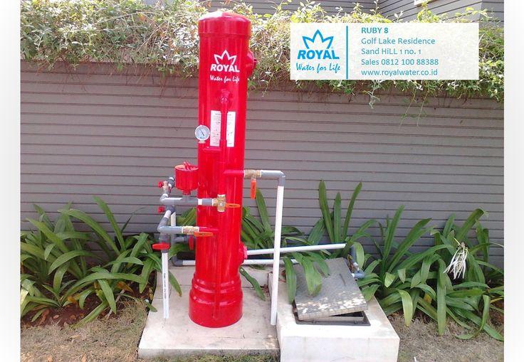 ROYAL-RUBY8 efektif memberikan solusi air bersih untuk permasalahan air kotor, kuning, berbau Zat Besi. sales 0812 100 88388 www.royalwater.co.id