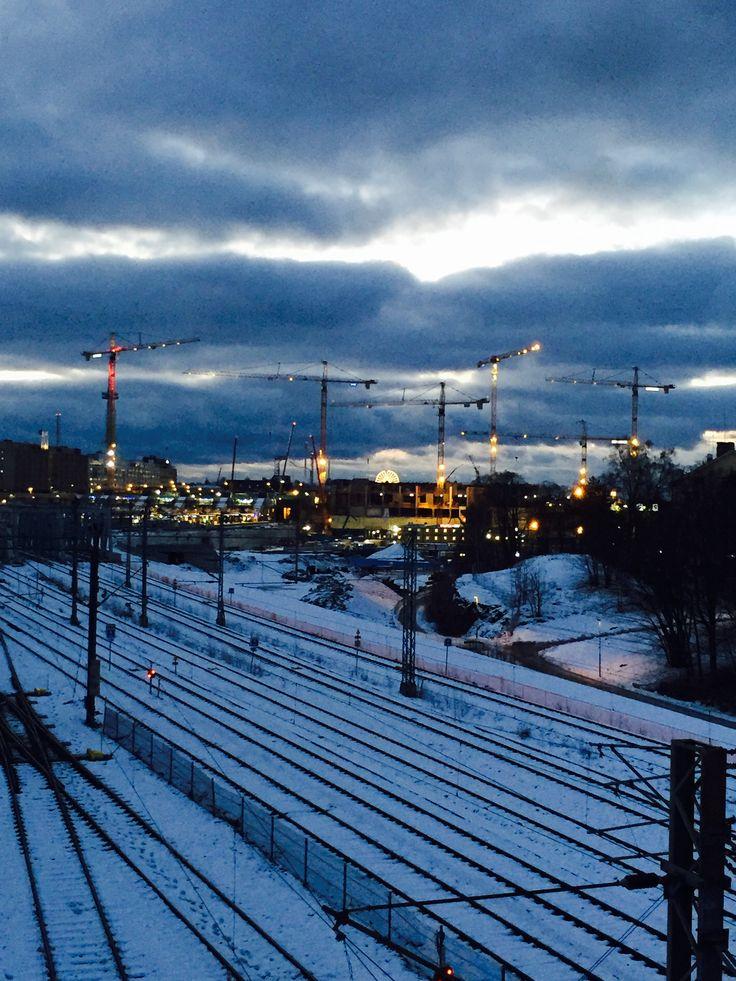 Pasila, Tripla, December, Helsinki 2017