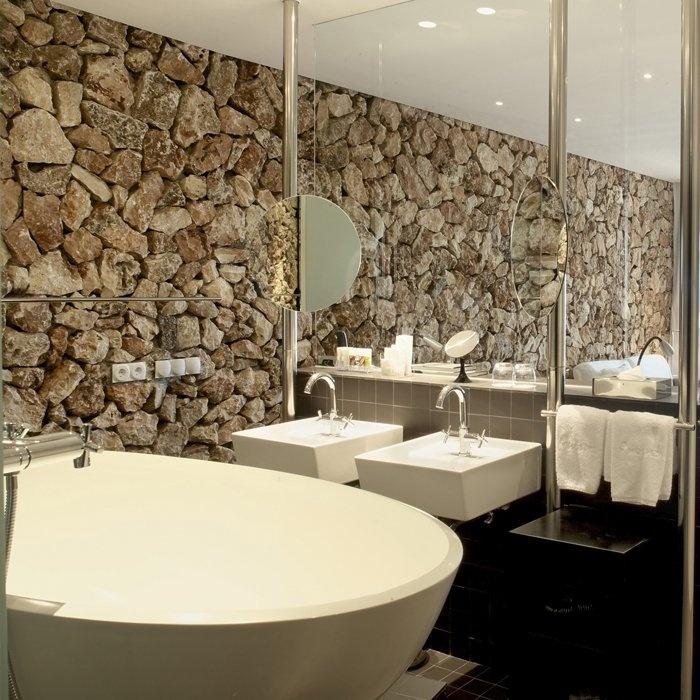 Oltre 25 fantastiche idee su bagno in camera su pinterest for Layout del bagno principale