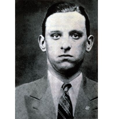 Karl Silberbauer. The man who arrested anne frank.