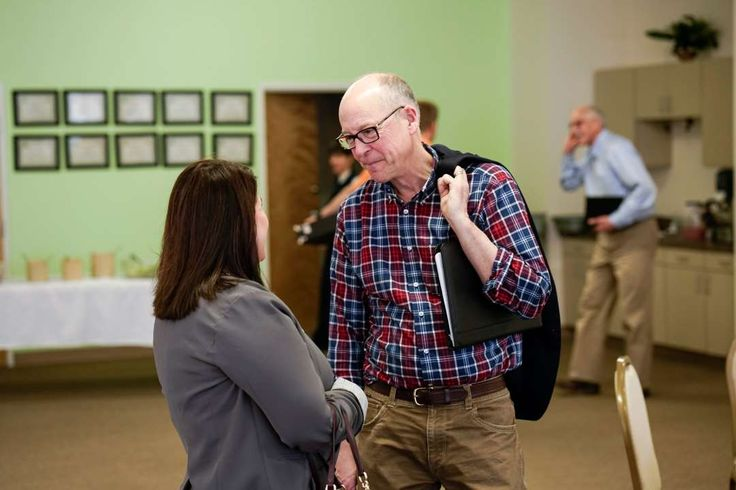 Key Republican in Health Law's Fate Hails From a State That Embraced It  -  February 25, 2017:    Representative Greg Walden, the new chairman of the Energy and Commerce Committee, with a constituent on Tuesday at the Rotary Club  in La Grande, Ore.