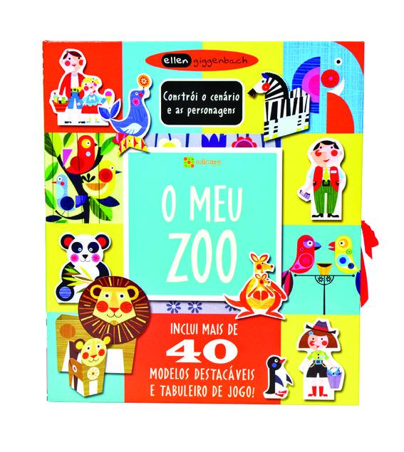 O Meu Zoo: Neste livro há um guardião do jardim zoológico que toma conta de tudo: dos animais, das vedações, das jaulas, das zonas de lazer e até dos tratadores. Um cenário a três dimensões, com 40 modelos fáceis de montar e um tabuleiro para os dispor, e ideias de histórias para construir.