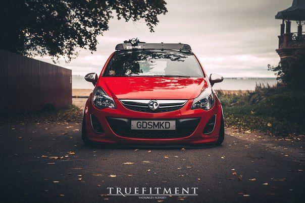 Opel Corsa 5D stance культура