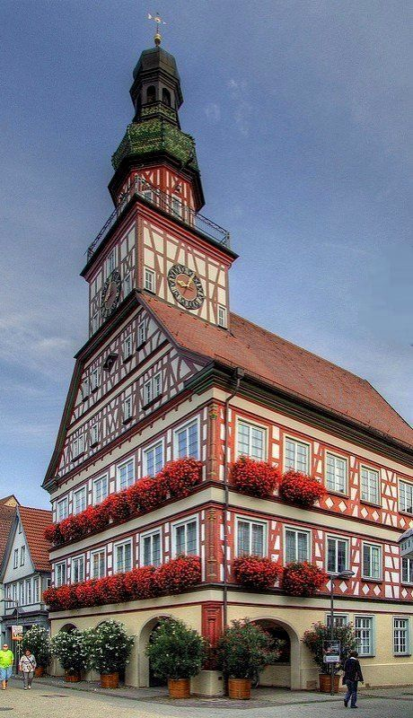 Town Hall, Kirchheim unter Teck, Germany