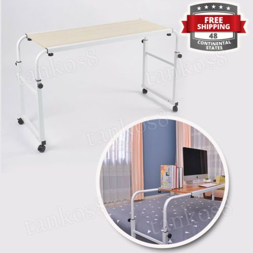 Big-Rolling-Table-Overbed-Multifunctional-Laptop-Desk-for-Bed-Sofa-Wood-Panel