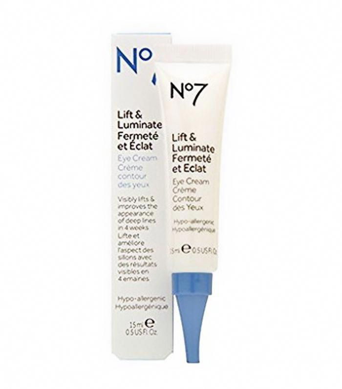 Boots No7 Lift And Luminate Eye Cream Hairandbeauty Face Cream Psoriasis Treatment Cream Anti Aging Cream